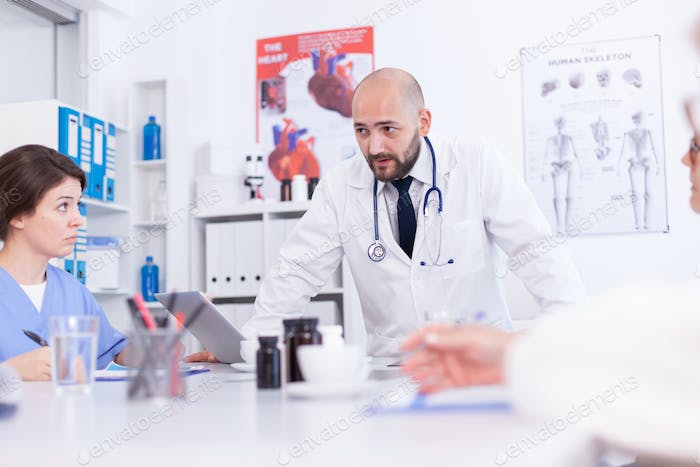 Talking about medical technology