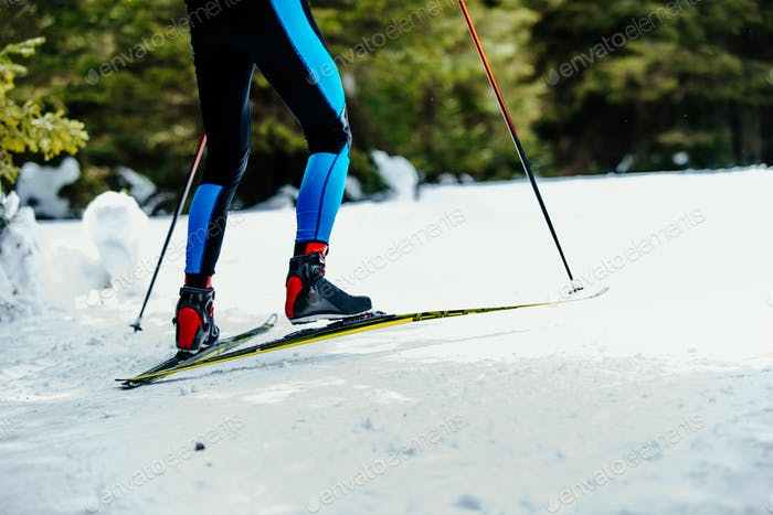 Thumbnail for legs men skier