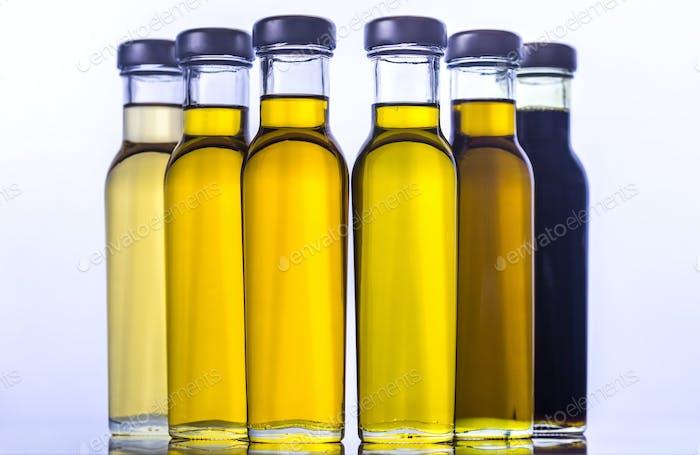 Verschiedene Arten von Pflanzenöl