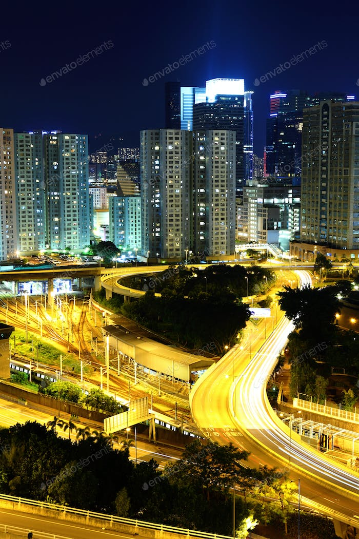 Hong Kong residential district