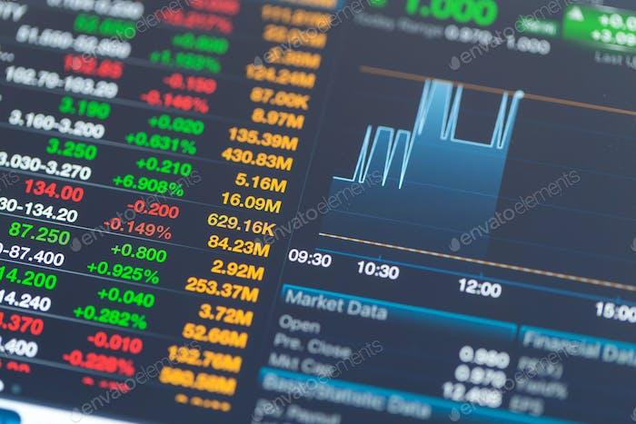 Información del mercado de valores
