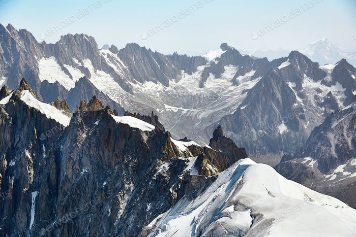 Chamonix Mont Blanc Massif, French Alps