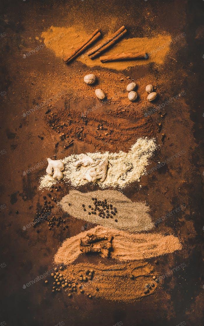 Türkisch sieben Gewürz Yedi Bahar Mix zum Kochen