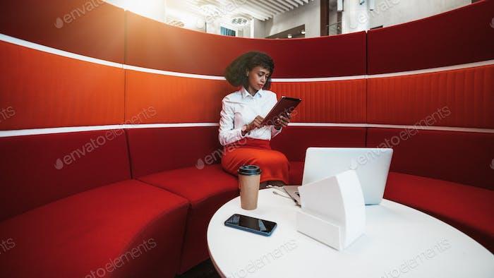 afroamerikanische Geschäftsfrau
