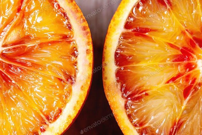 Sicilian bloody orange