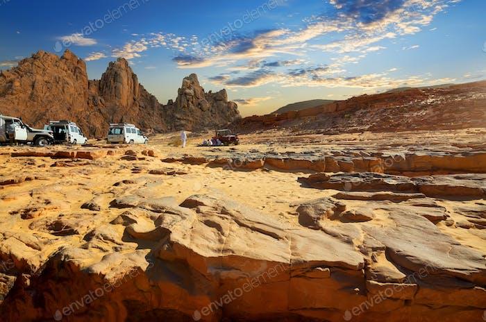 Trip to Egyptian desert