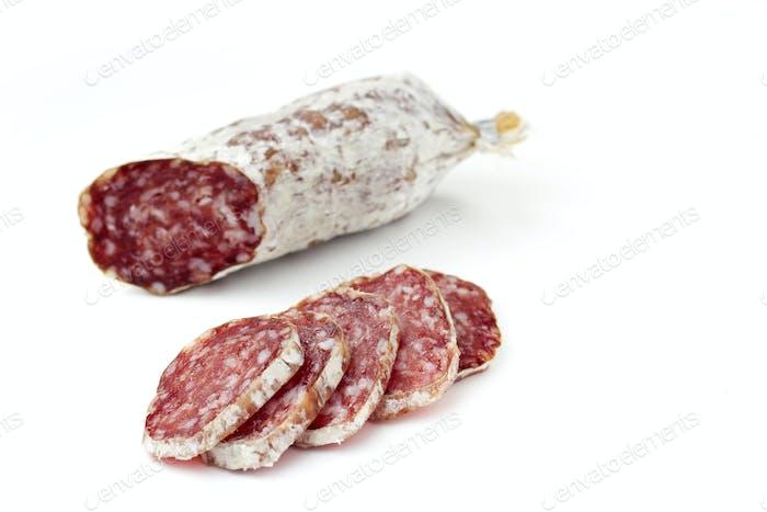rebanadas de salami