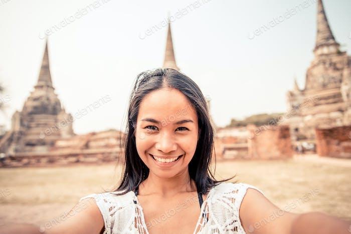 Selfie in Ayutthaya