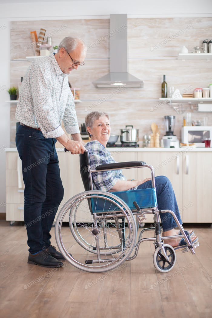 Helping wife with disability