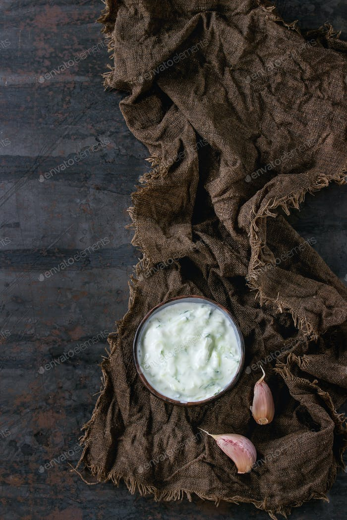 Greek sauce tzatziki