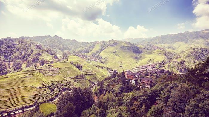 Longji Rice terraces, China.