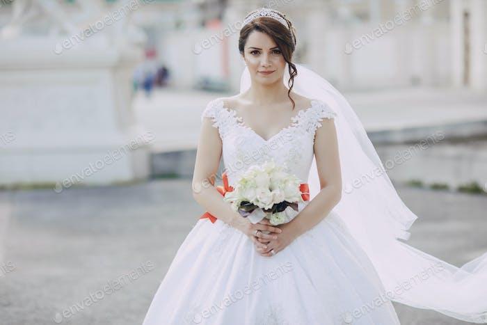 Braut in Krone
