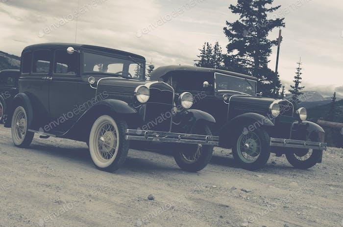 Vintage Cars Old Timers