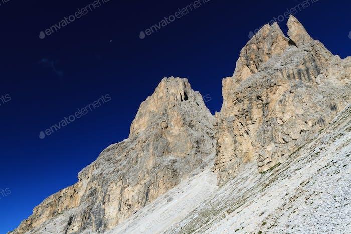Dolomites at morning