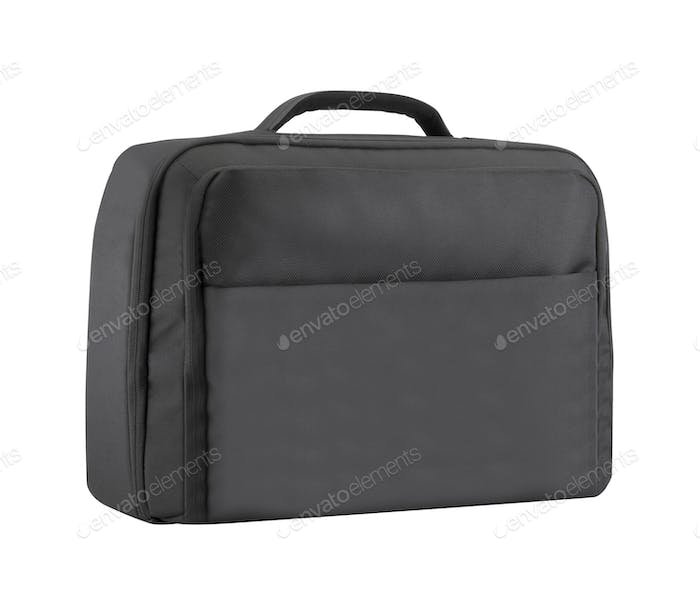 a textile briefcase for laptop