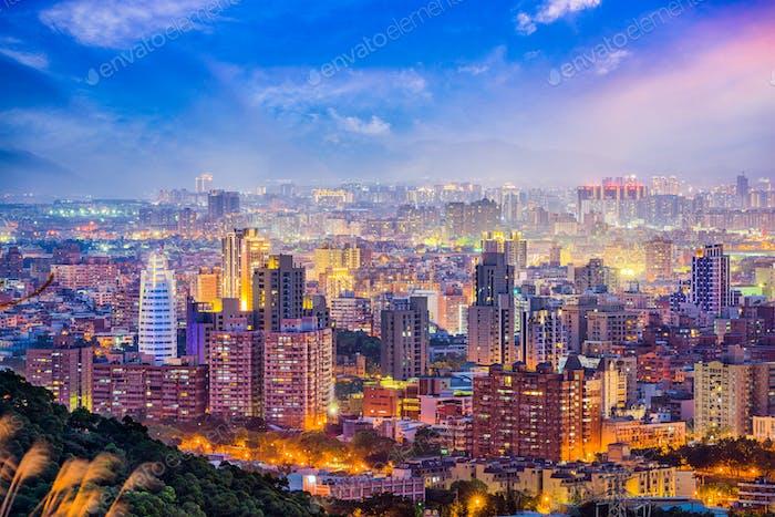Taoyuan, Taiwan Skyline