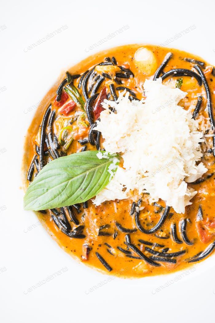 Würzige Spaghetti Meeresfrüchte