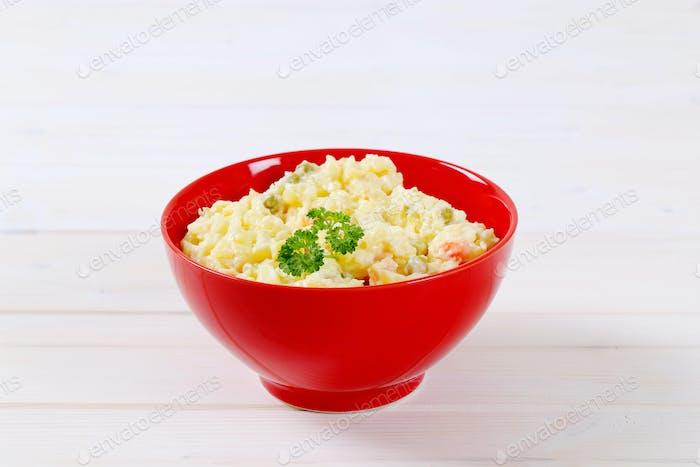 Schüssel Kartoffelsalat