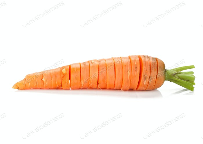 Sliced carrot