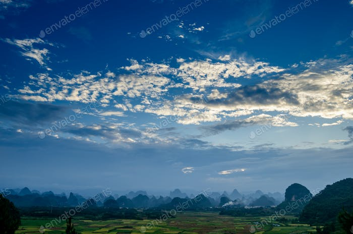 Rural scenery in Guilin