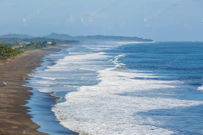 Küste in Costa Rica