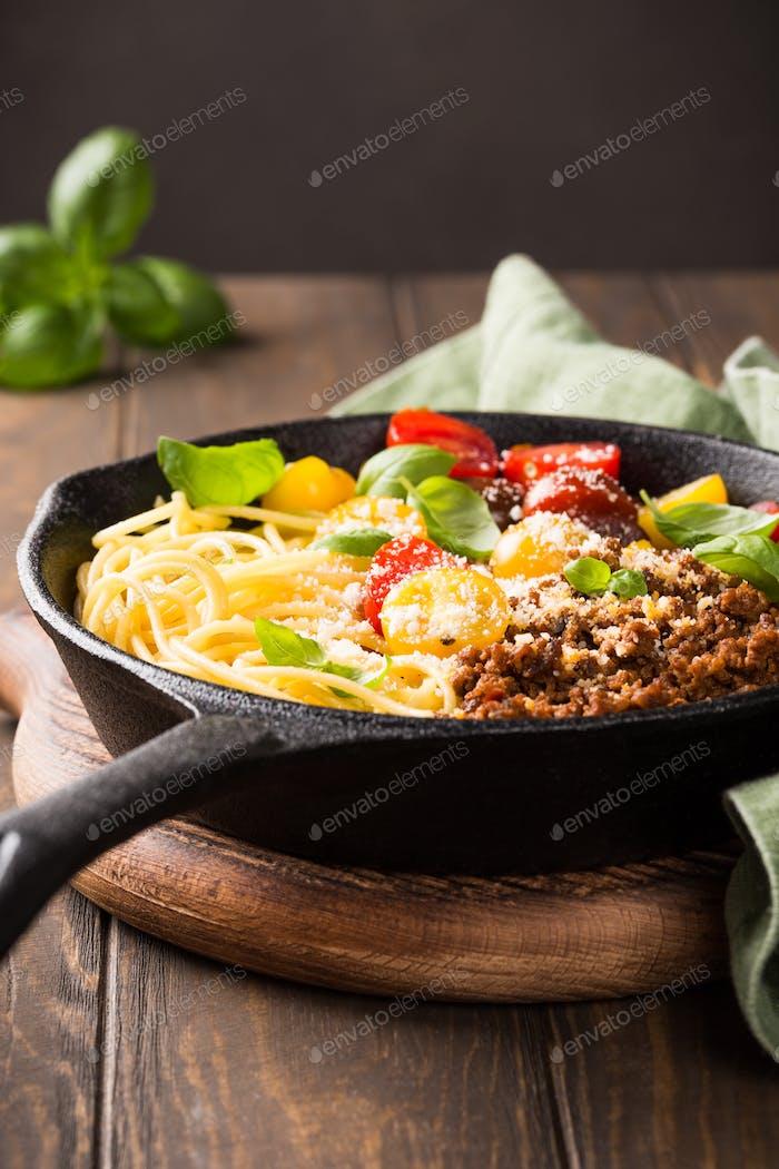 Delicious spaghetti Bolognaise