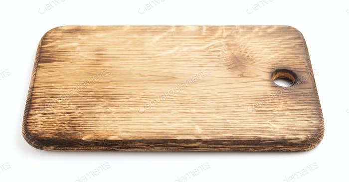 cutting board on white
