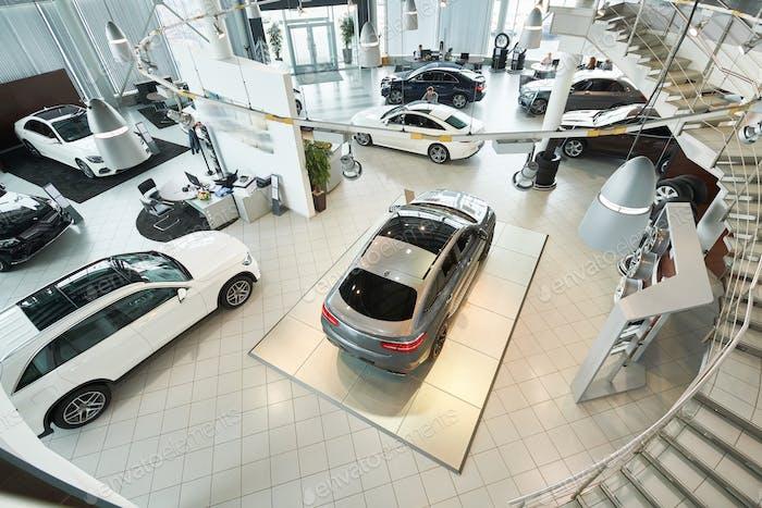 Luxury auto salon