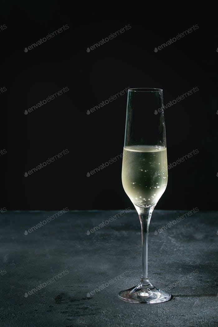 Glass of champagne
