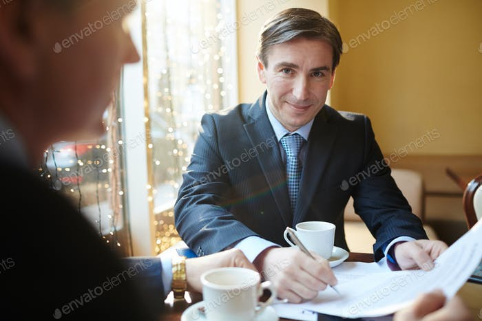 Lawyer at work