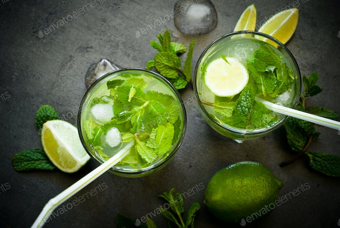 Sommergetränk Mojito