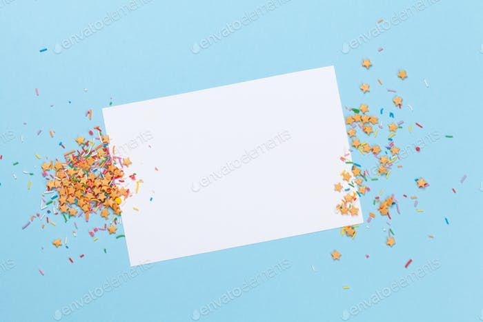 Greeting card holiday template