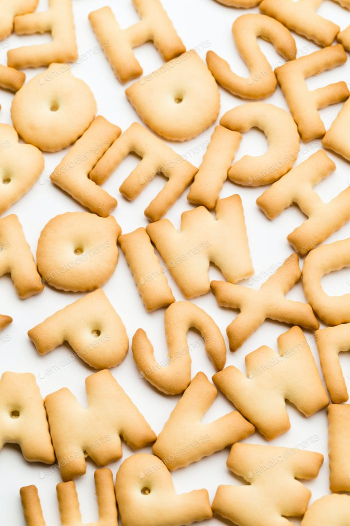 Group of word biscuit