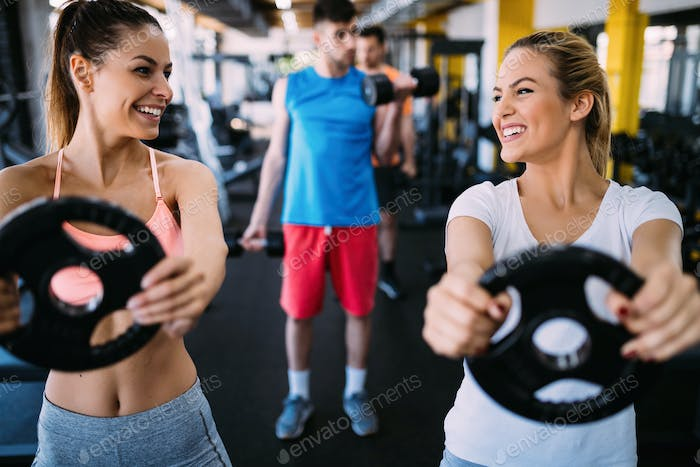 fitness, sport, exercising and healthy lifestyle concept