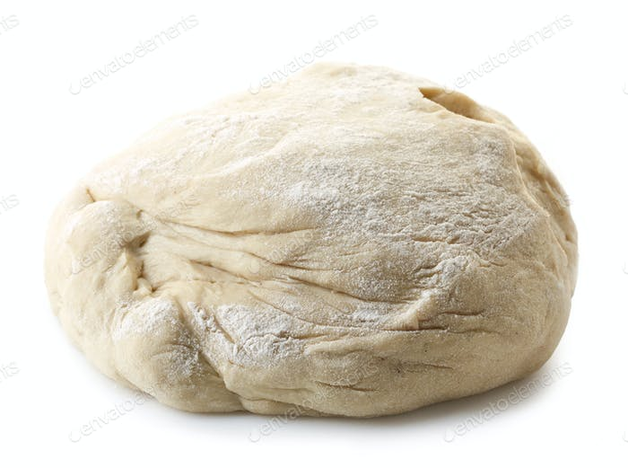 fresh raw dough