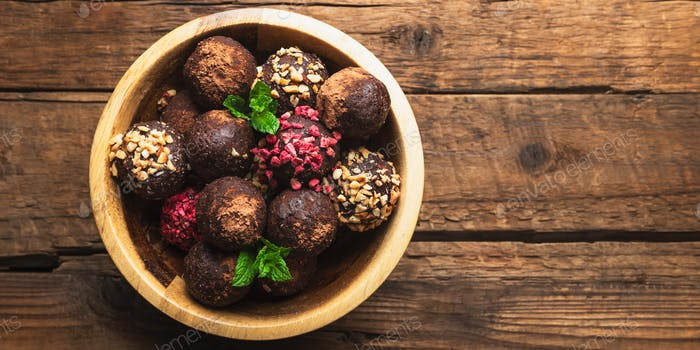 Raw Vegan Truffles or Energy Balls