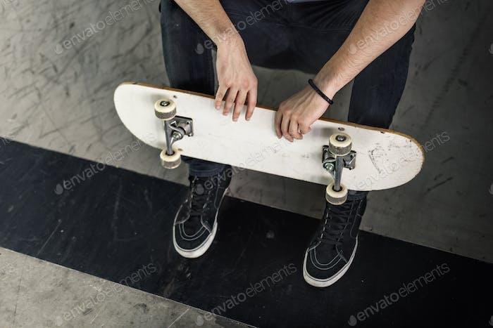 Skateboarding Skatepark Skater Skate Style Sport Concept
