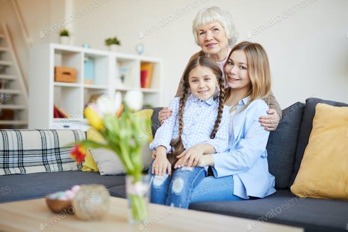 Retrato de família feminino