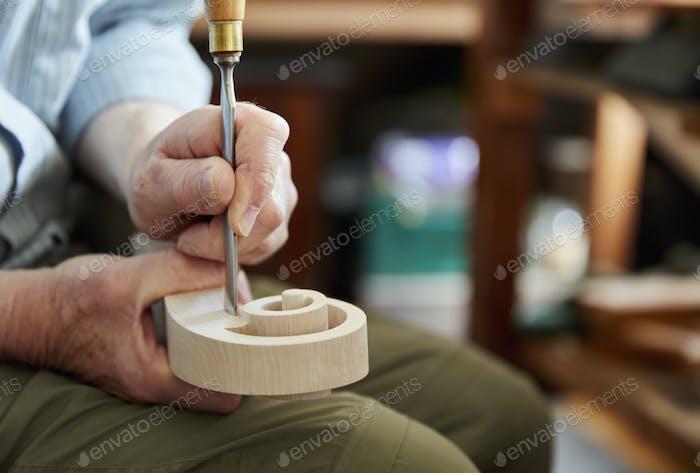 A violin maker