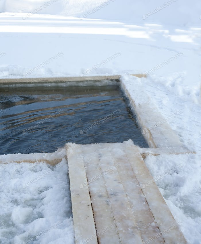Fishing Ice Hole