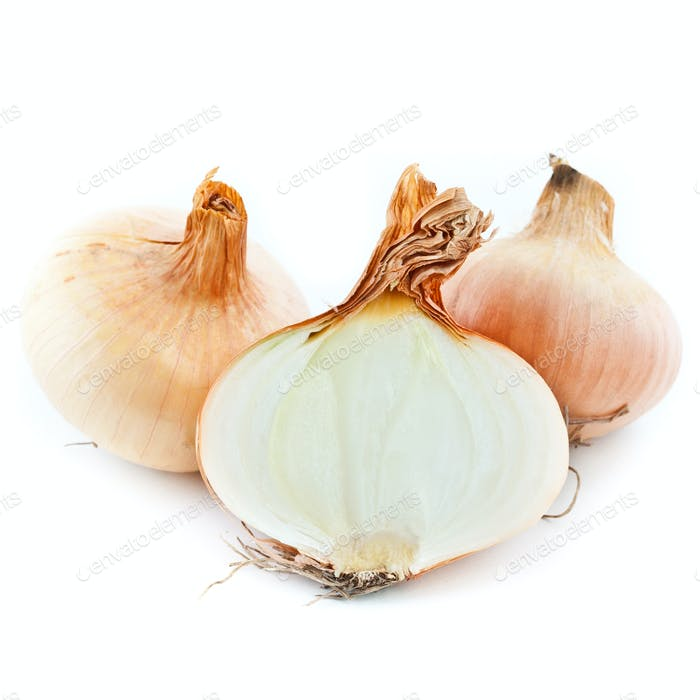 Yellow sliced onion