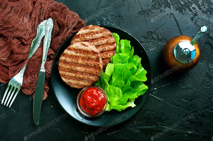 cutlets for burgers