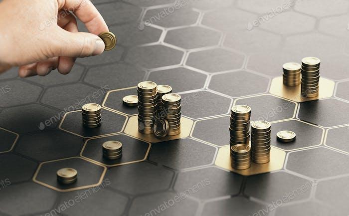 Gestión de las inversiones. Diversificación de la Porfolio.