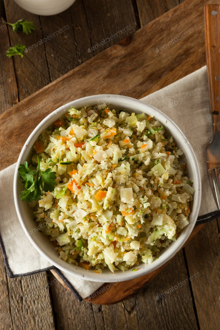 Organic Paleo Cauliflower Rice