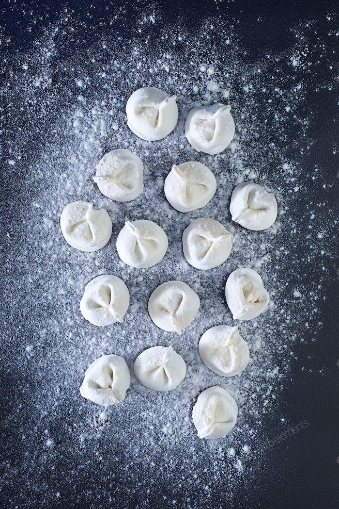 raw pelmeni