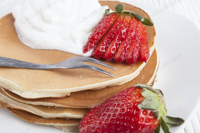 Pancakes with Fork