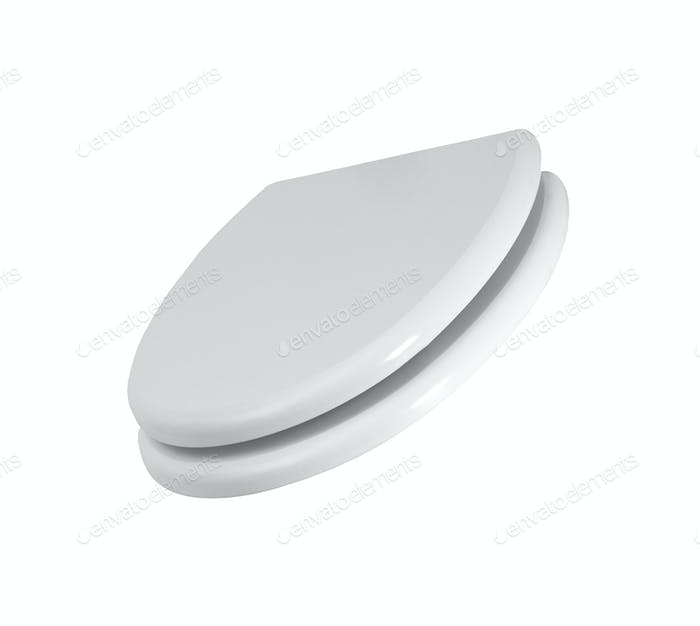 toilet seat isolated