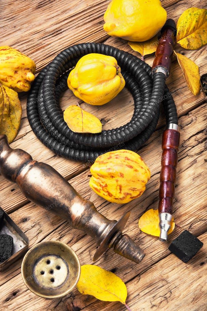 hookah shisha with quince