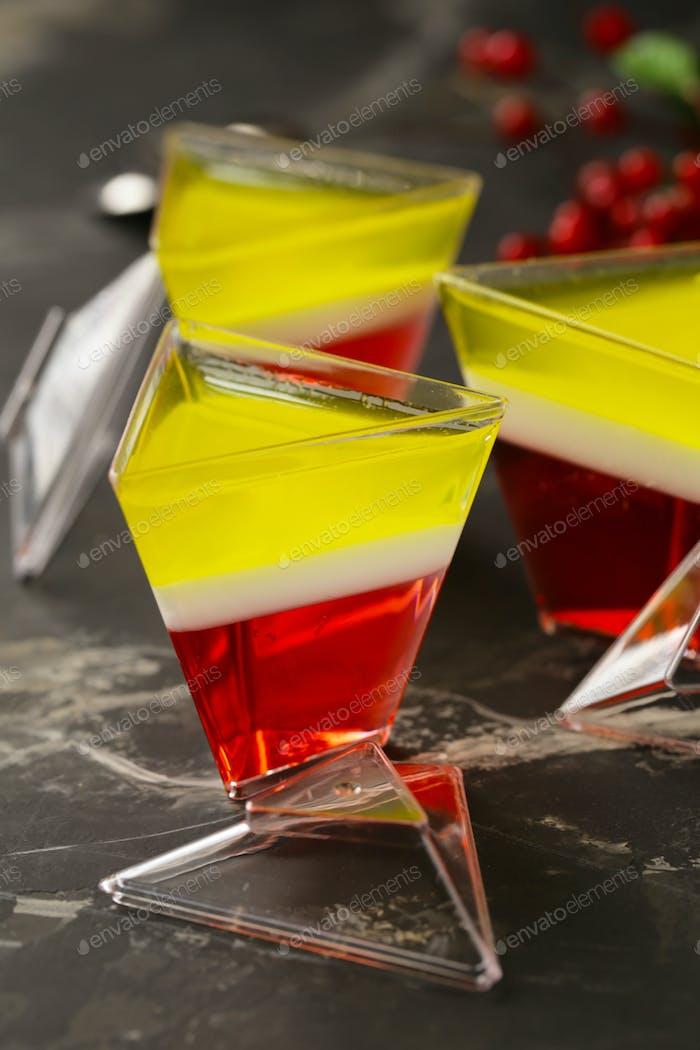 Berry Jelly Dessert