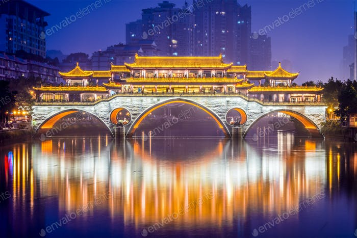Chengdu Brücke